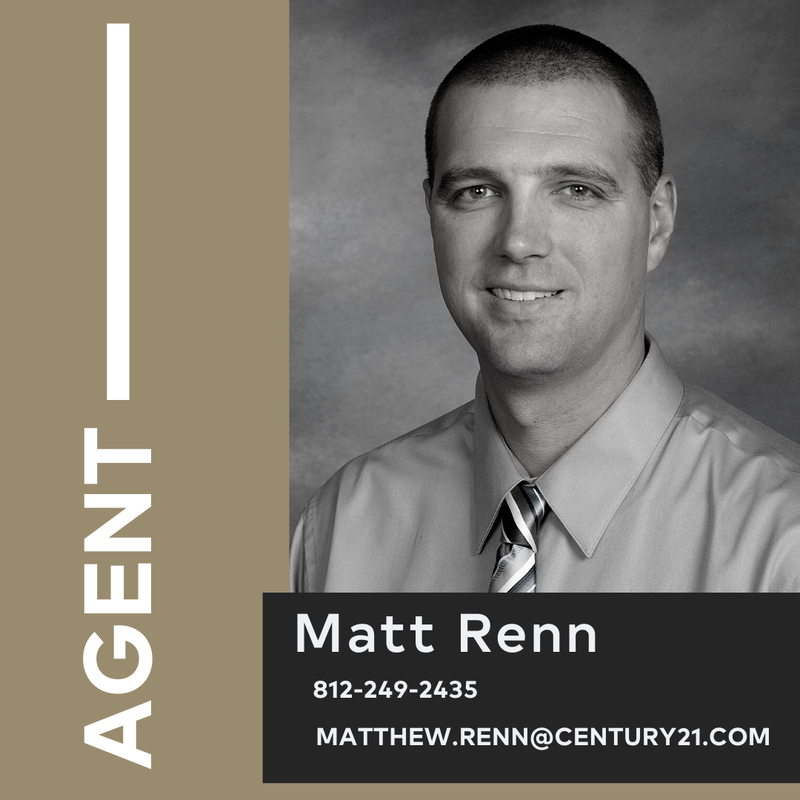 Matt Renn Realtor and Commercial Specialist a CENTURY 21 Elite