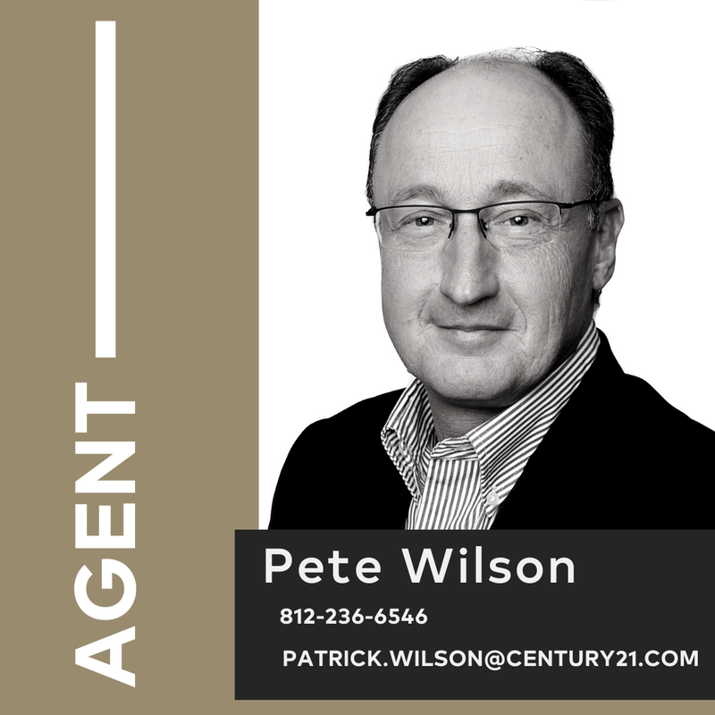 Pete Wilson Realtor and Commercial Specialist a CENTURY 21 Elite