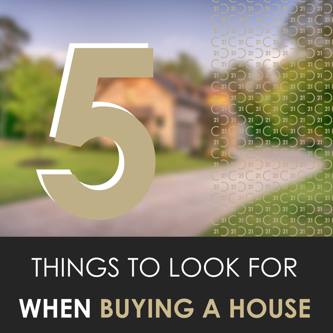 5 Things to Look for When Buying a House
